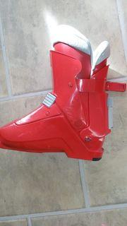 Ski Schuhe rot grösse 10