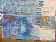 Tausche Schweizer Franken gegen Euro