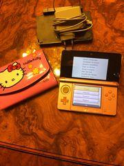 Nintendo 3DS rosa mit Spielen