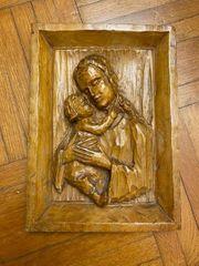 Heiligenbild Maria mit Jesuskind