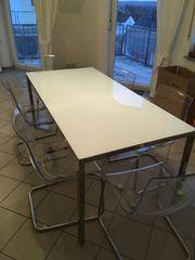 IKEA Tisch Torsby Glas 180x85