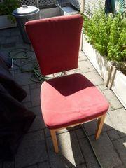 6 Stühle mit Alcantara Bezug