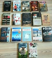 Spannendes Kriminalromane Paket mit 17