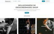 Homepage Internet Shop Affiliate Projekt