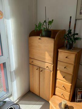 Wohnzimmerschränke, Anbauwände - Sekretär Schrank