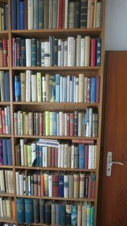 Große Büchersammlung Bibliotheksauflösung Romane Klassiker