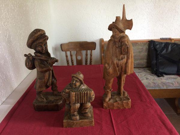 Holzfiguren / Figuren aus Holz