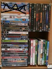 Verschiedene DVD s abzugeben