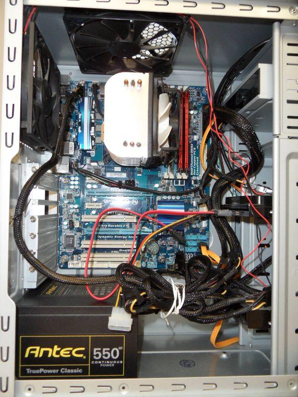 Gaming-PC mit flotter Grafikkarte