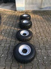 QUAD KOMPLETTRÄDER Vorne große 21x7