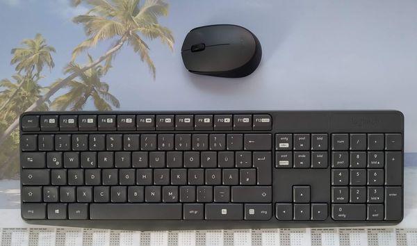 Logitech kabellose Tastatur mit Ziffernblock