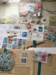 Lot Sammlung kiloware Briefmarken
