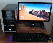 PC Arbeitsplatz mit i5 Rechner