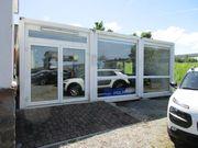 Doppel Büro-Verkaufs-Container 48m2 Licht Decke