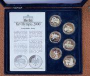 6 Silbermedaillen Bewerbung Berlin für