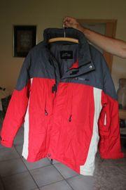 Herren-Skijacke Anorak wenig getragen rot