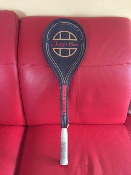 Tennis, Tischtennis, Squash, Badminton - Squashschläger Jahangir Khan Graphite