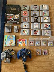 Nintendo 64 und GameBoy spiele