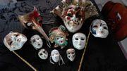 10 Venezianische Masken Larve für
