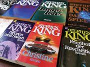 Stephen King Bücher in teils