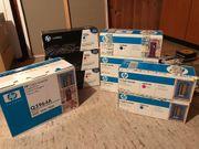 HP Druckerpatronen und Photoleitereinheit NEU