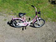 Kinder Mädchen Fahrrad 16 Zoll