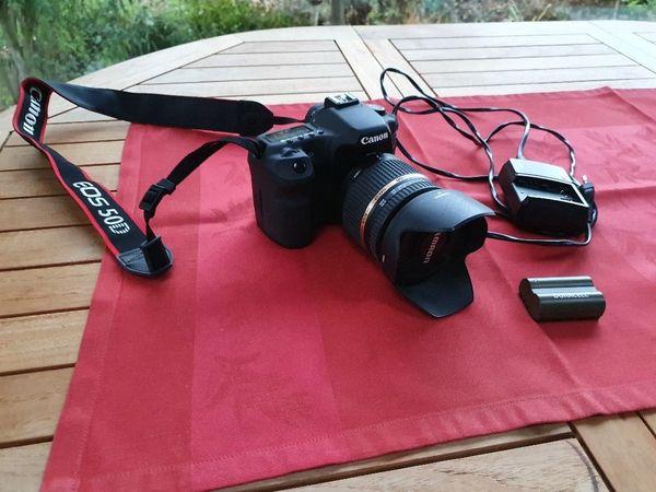 Komplette Canon EOS 50D Ausrüstung