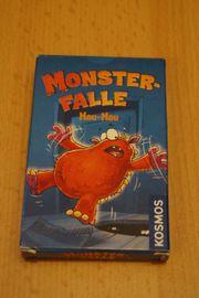 Monsterfalle Mau Mau - Kartenspiel NEU
