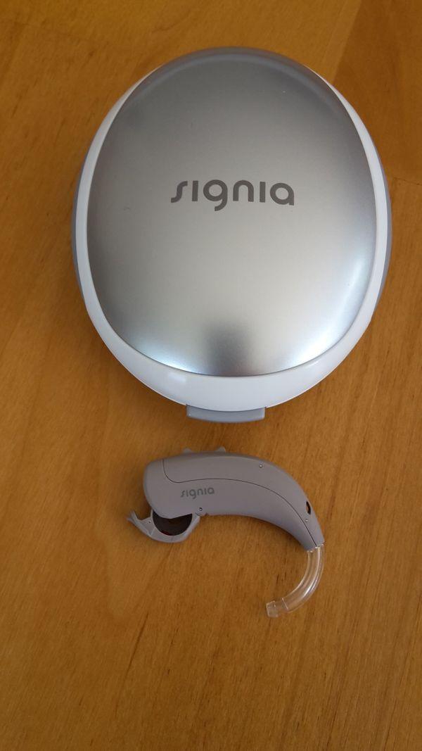 2 Siemens Hörgeräte 1 Signia