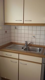 Küchenzeile 2 8m mit Einbaugeräten