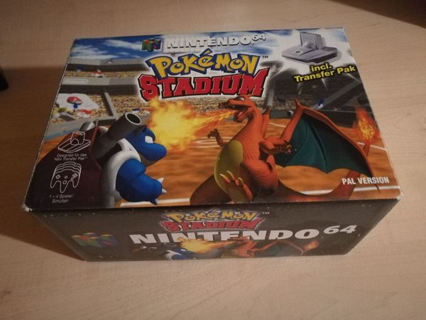 Pokemon Stadium N64 mit Transfer