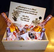 Geschenk Kisten aus Holz mit