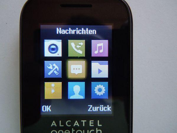 Handy Alcatel klein und handlich