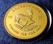1 OZ Krügerrand - 1967 - Medaille