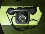 Wählscheibentelefon DP Metall Bakelit Tischfernsprecher