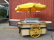 Marktwagen Eis Crepes Imbiss Verkaufsanhänger