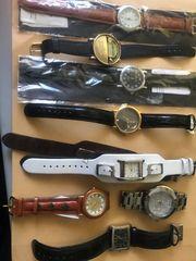 Uhre 8 Stück Damen u