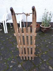 Holzschlitten 100 cm