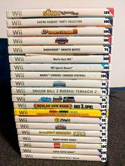 Nintendo Wii Spiele Sammlung Auflösung