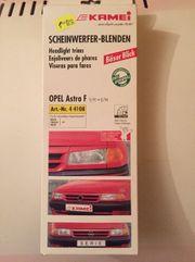 Kamei scheinwerferblenden für einen Opel