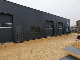 Stahlhalle Gewerbehalle Lagerhalle mit Beurobereich: Kleinanzeigen aus Offenbach Innenstadt - Rubrik Büros, Gewerbeflächen