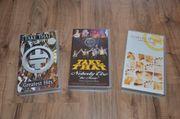 Drei neuwertige Take That VHS