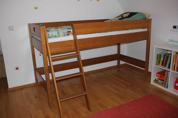 Etagenbett Kinderzimmer Paidi : Paidi varietta kinderbett hochbett spielbett buche massiv in