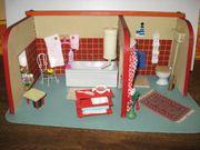 VEB-Grünhainichen Badezimmer -Puppenhaus-Puppenküche-Puppenstube