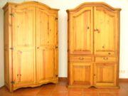 Wäscheschrank massiv Pinienholz Sonnige Grüße