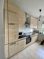 IKEA küche mit Geräten