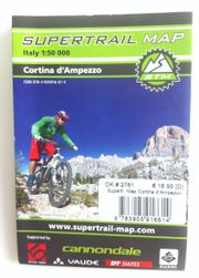 Supertrail Map für Cortina d