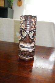 Holzmaske Holzfigur Antike Holzfigur Woodmask
