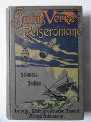 Verne Jules Schwarz-Indien Jules Verne