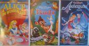 Disney VHS Kasetten